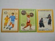 Japonia - sport - zestaw - Mi. 1166, 1229, 1273 **