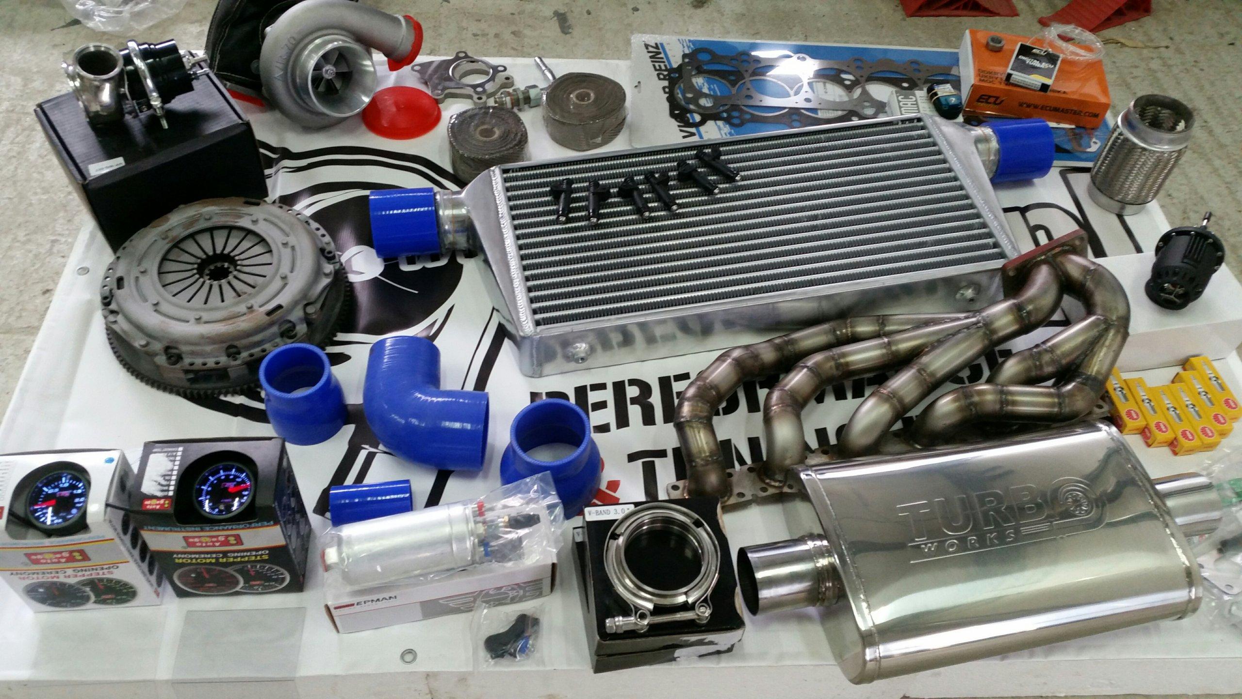 K64 SOFT turbo zestaw kit bmw m50 m52 m54 300-500 - 7020416788