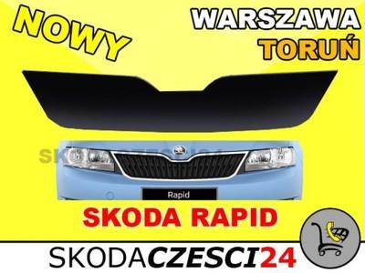 OSŁONA OWIEWKA ZIMOWA ATRAPY GÓRNA SKODA RAPID 12-