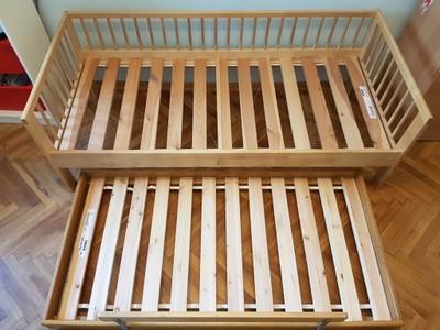 łóżko Podwójne Dziecięce Piętrowe Wysuwane Ikea 6912467123