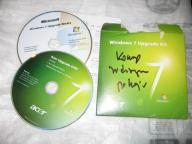 Windows 7 Home Premium 32 upgrade kit ACER