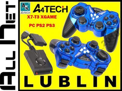 A4TECH PAD Bezprzewodowy X7-T3 HYPERION PC PS2 PS3
