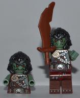 Lego Castle Figurka Ork 053