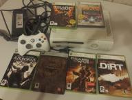 Xbox 360 + pad + 6 gier