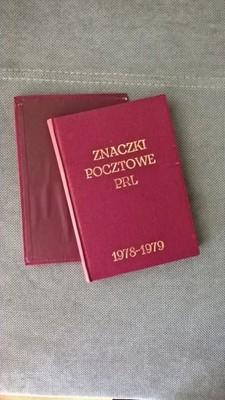 Klaser tom XIII znaczki rocznik 1978-1979
