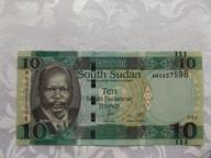 SUDAN 10 FUNTÓW 2015 r. STAN ( UNC- )