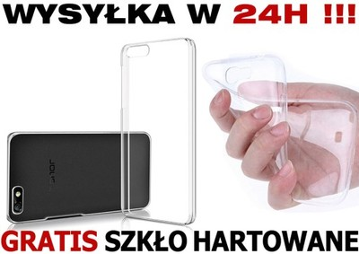HTC ONE M8s ETUI PRZEŹROCZYSTE CRYSTAL CLEAR+SZKŁO