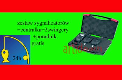 CENTRALKA 2x SYGNALIZATORY KONGER +FILM DVD GRATIS