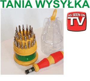 SRUBOKRETY SERWISOWE ZESTAW 30w1 TORX