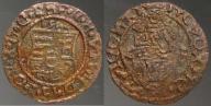 3398. Węgry denar, PATRONA HUNGARIE, XVIw. ŁADNA