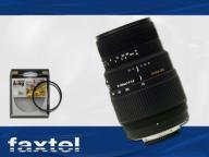 SIGMA 70-300 DG MACRO + FILTR UV DO PENTAX PL GWAR