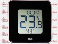 Termometr Higrometr Elektroniczny Wew Czarny TFA