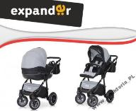 EXPANDER MONDO BLACK 4w1 + KIDDY EVOLUNA iSIZE