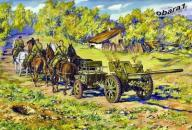 76,2mm F-22 with Horse Transport - ICM