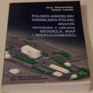 Słownik pol-ang i ang-pol GEODEZJI, NIERUCHOMOŚCI