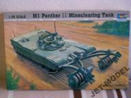 M 1 PANTHER II Mineclearing Tank  1/35 TRUMPETER