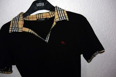 98c4a62d2 BURBERRY LONDON shirt koszulka bluzka POLO M/L - 6801231902 ...