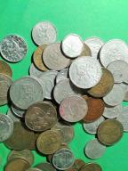 mix monet lot 80 sztuk Czechosłowacja i Czechy