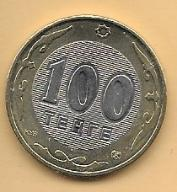 KAZACHSTAN - 100 TENGE - 2002