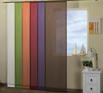Woal Kolorowy Gładki Z Metra 280 Cm Firany Tiul