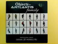 ARTLANTIS Objects - Casual 3D models #2 CD Dysk
