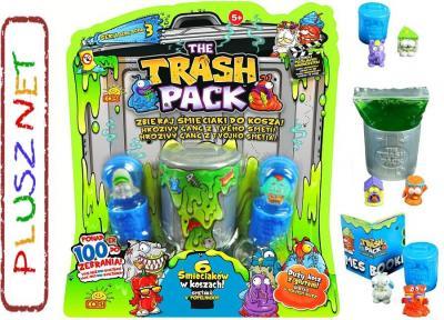 Trash Pack ŚMIECIAKI 6-PAK Z GLUTEM / 3 Seria Cobi