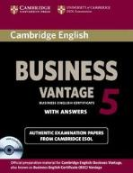 Cambridge English Business 5 Vantage with answers