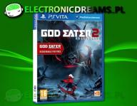 GOD EATER 2 RAGE BURST PSV VITA RESURRECTION W-WA