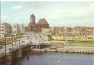 SZCZECIN - MOST + KOŚCIÓŁ ŚWIĘTEGO JAKUBA - 1970R