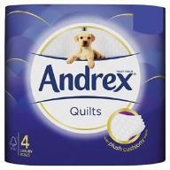 Andrex Quilts Papier Toaletowy Zestaw 48 Rolek
