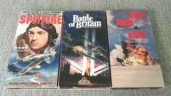 3 fimy VHS II wojna światowa Spitfire Tora Tora
