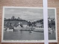 Płock okupacja panorama Wisła barki