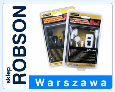 SŁUCHAWKI Z MIKROFONEM SKYPE PSP SLIM SKLEP ROBSON