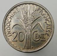 1941 Indochiny Francuskie 20 centymów