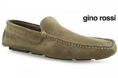 b03c4481b9af2 komfortowe mokasyny półbuty GINO ROSSI beżowe 41 - 3765620649 ...