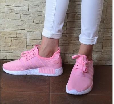 BUTY ADIDAS Sportowe Obuwie Damskie Adidasy Różowe