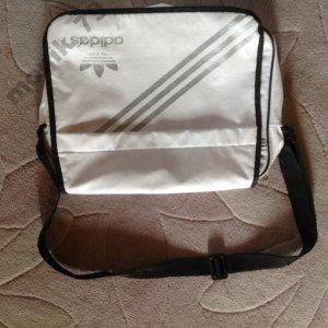 b4d16e2a0bb12 Sportowa torba ADIDAS na ramię biała, duża - 6062347895 - oficjalne ...