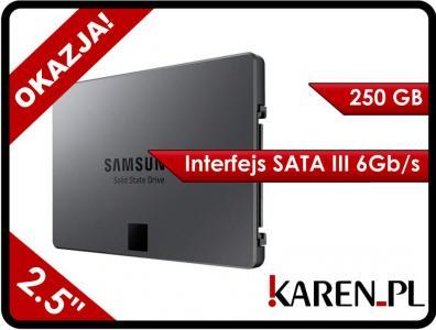 Dysk SSD Samsung 840 EVO 250GB SATA 3 MZ-7TE250BW