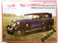 Mercedes Typ G4 (W31) open cover -ICM-1:35 - 35532