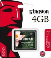 KINGSTON COMPACT FLASH CF 4GB CF/4GB FV JÓZEFÓW