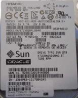 "Hitachi Sun Oracle 3,5"", 2TB, SAS 6Gb/s"