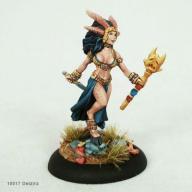 Delzira Demon Princess - barbarzyńska kapłanka WBM