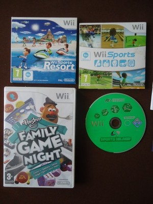 Wii Sports + Sports Resort + Dwie Inne BCM !!!