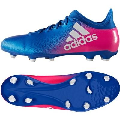 Buty adidas X 16.3 FG BB5641 niebieski 42 23