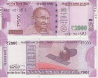 India 2000 Rs 2016 UNC NOWOŚĆ !