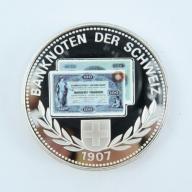 Numizmat - Szwajcaria - 100 Banknote -lustro -B224