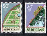 HOLANDIA Drzewa EUROPA Kwiat kwiaty Mi:1292/93**