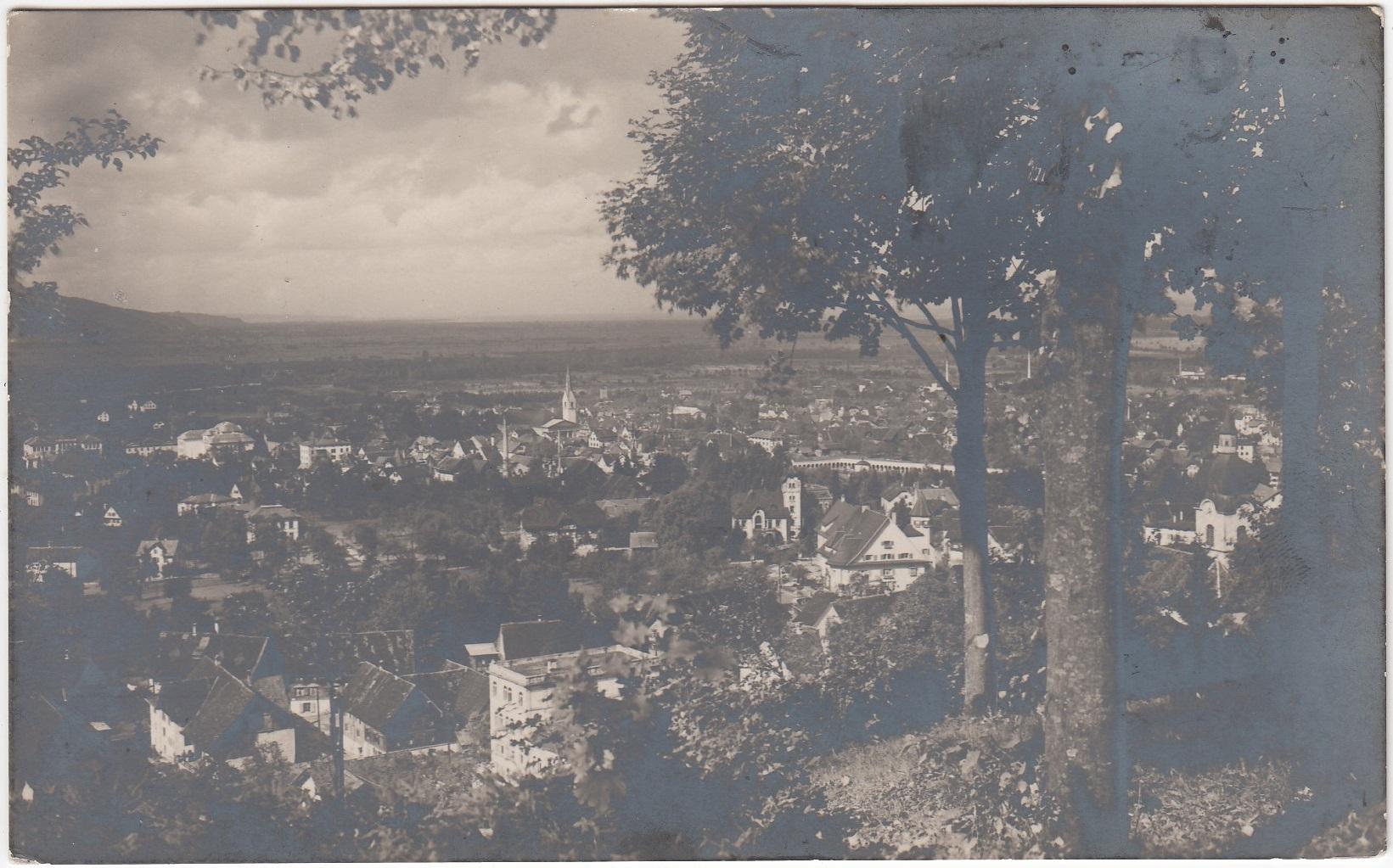Austria Dornbirn Zanzenberg panorama (ok. 1930)