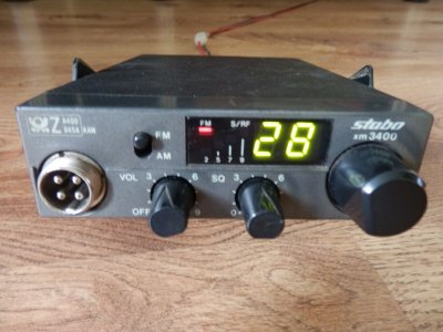 CB RADIO RADIOTELEFON STABO XM3400
