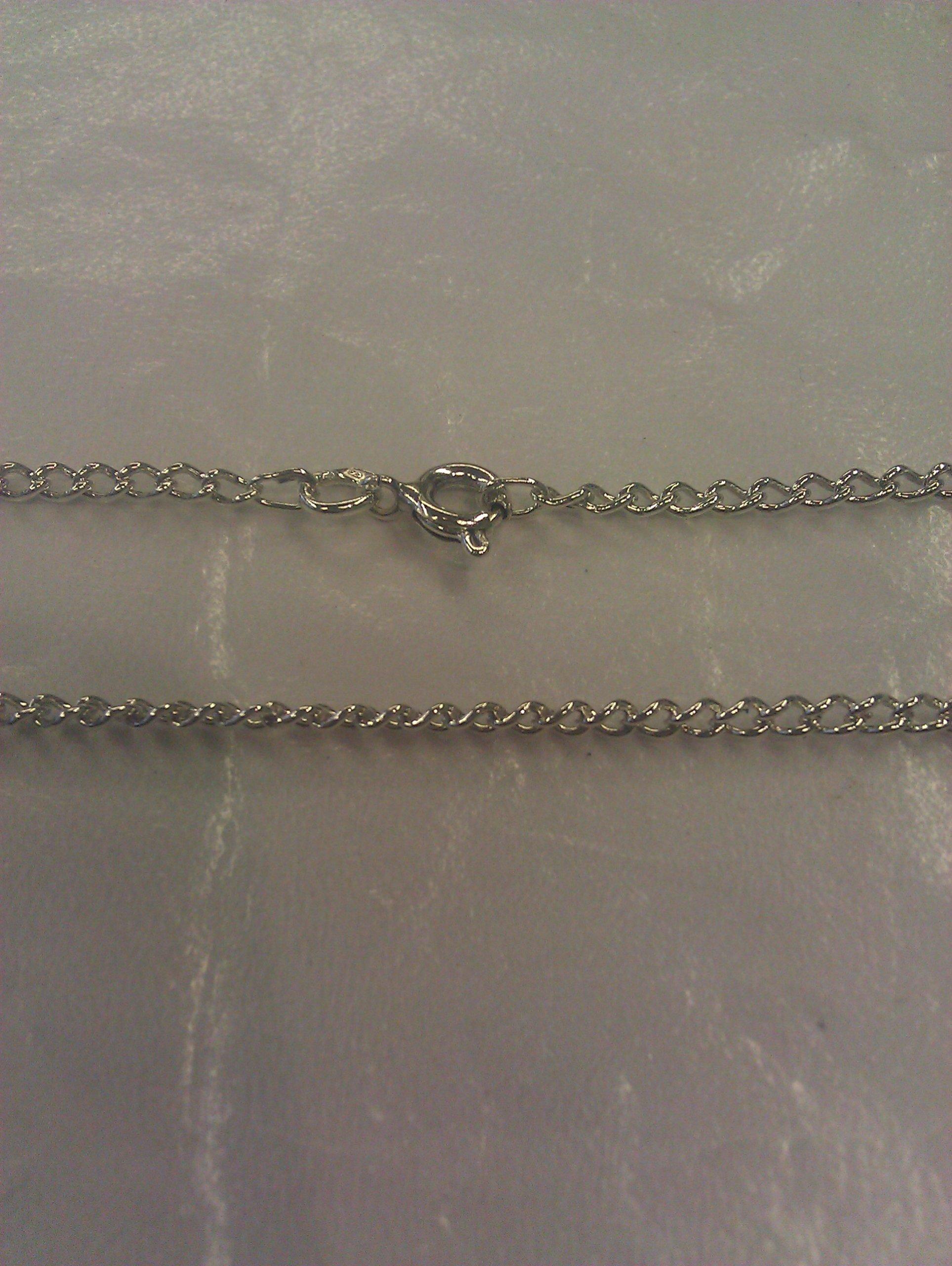łańcuch pancerka srebro pr.925 nie złom 5,0 50cm